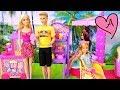 Barbie y las niñas van a la feria - Juguetes de Barbie en español