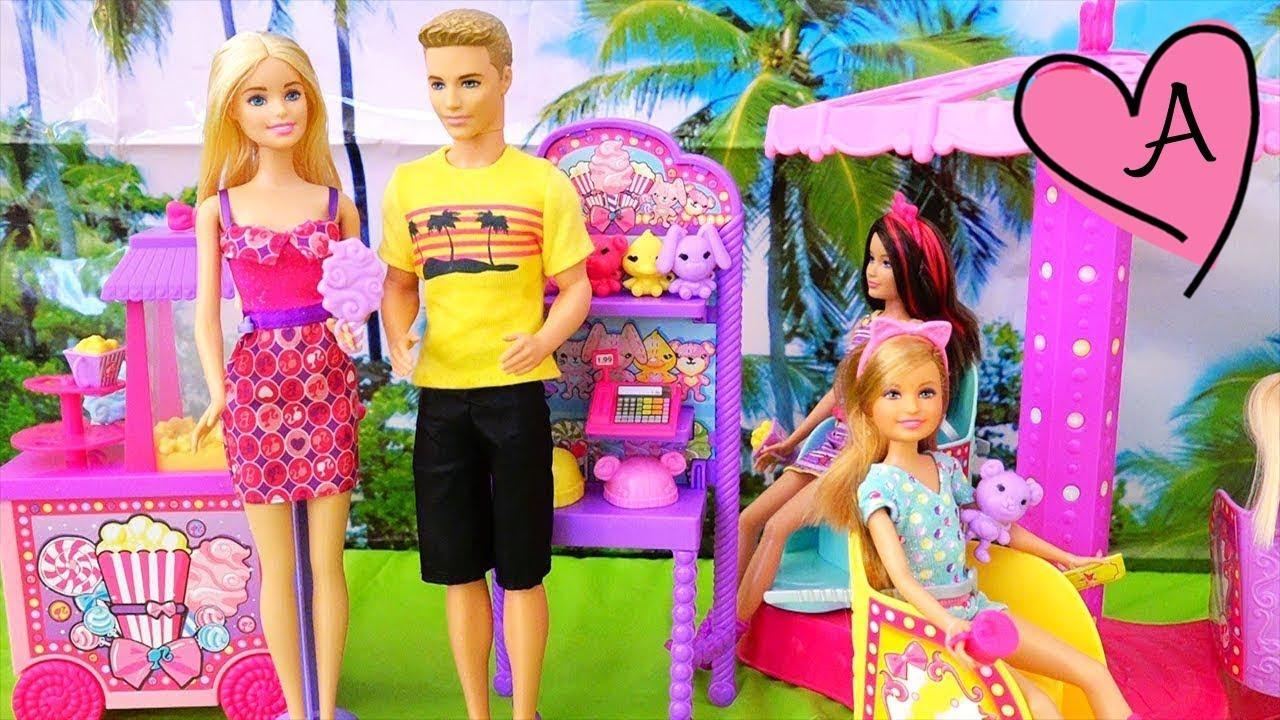 Barbie y las niñas van a la feria - Juguetes en español de barbie ...