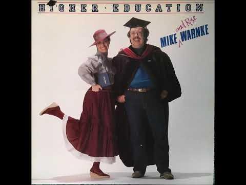 "Mike (and Rose) Warnke - ""Higher Education"" [FULL ALBUM, 1982, Christian Comedy]"