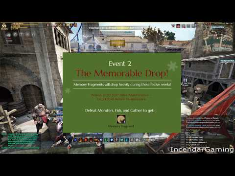 MEMErable AFK FISH event! Boost Memory Fragments and relics with AFK Black Desert Online BDO