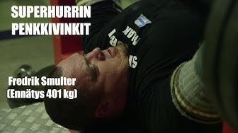 SUPERHURRIN PENKKIVINKIT-Fredrik Smulter