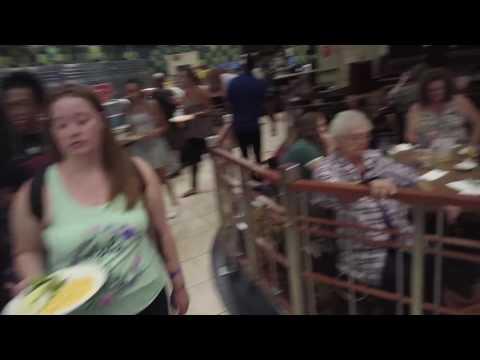 Inside Sam's Town Buffet in Las Vegas, Nevada