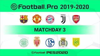 PES | FC Bayern München VS FC Schalke 04 (Featured Match) | eFootball.Pro 2019-2020 #3 Full Matches