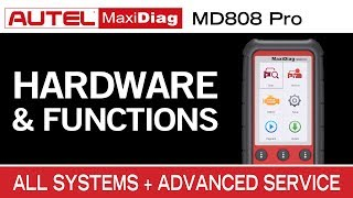 Autel MaxiDiag MD808 Pro — Introduction