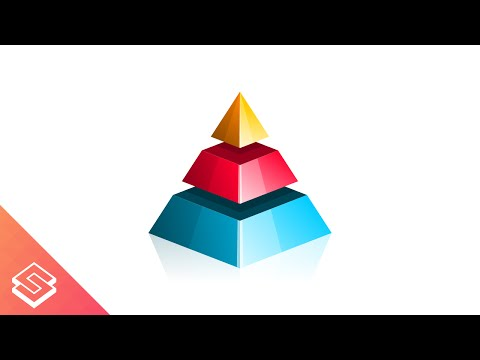 Inkscape Tutorial: Pyramid Graphic