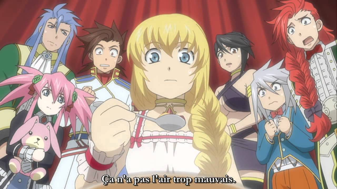 VOSTFR Tales of Symphonia OAV - Tethe'alla Hen - Omake Anime 4 ...