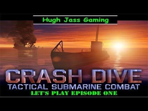 """Let's Play Crash Dive!  iOS Submarine Simulator """"Lite"""""""