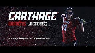 Carthage College Women's Lacrosse Feature Video
