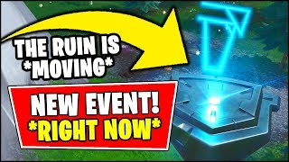 🔴 *NEW* FORTNITE LOOT LAKE EVENT *RIGHT NOW* - THE RUIN IS MOVING (Fortnite Season 8 RUIN EVENT)