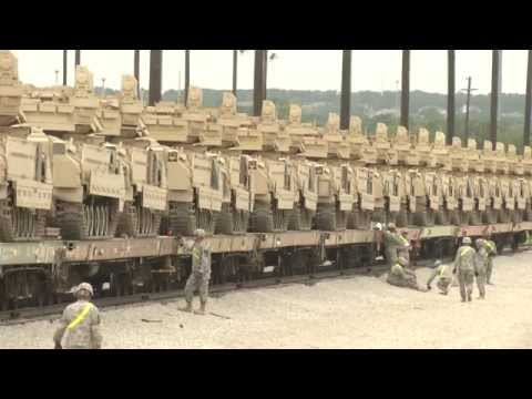 1st Cav Railhead Operations