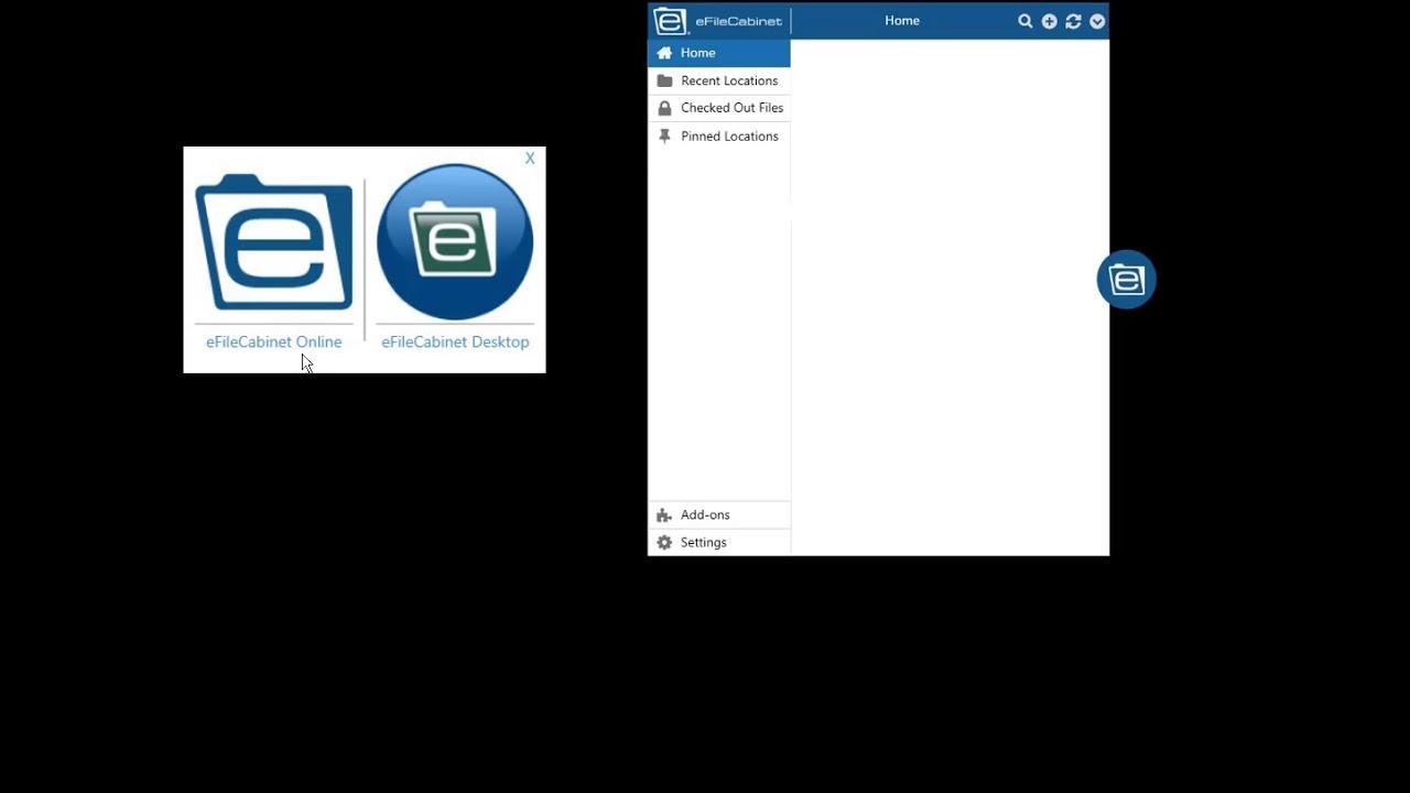 5. SideKick Installation and Shortcut Login to eFileCabinet Online ...