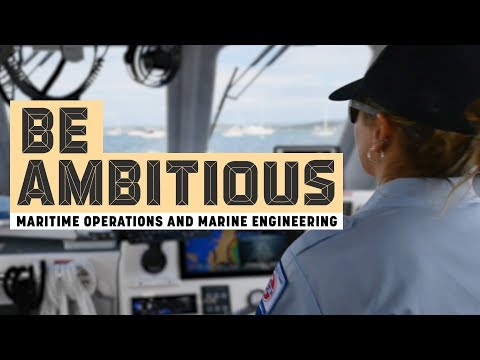 Maritime Operations and Marine Engineering Courses - TAFE NSW