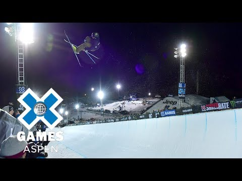 Men's Ski SuperPipe: FULL BROADCAST | X Games Aspen 2018