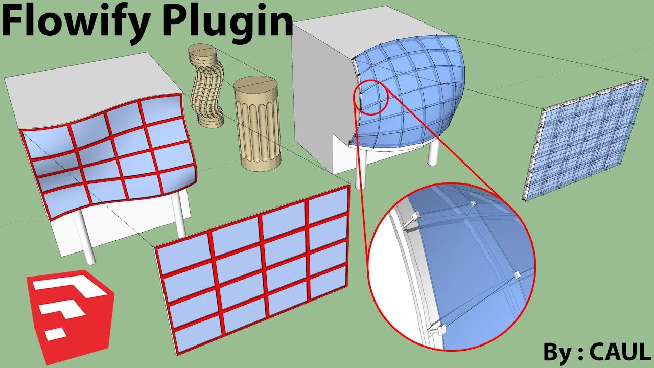 How To Use Flowify Plugin | Sketchup