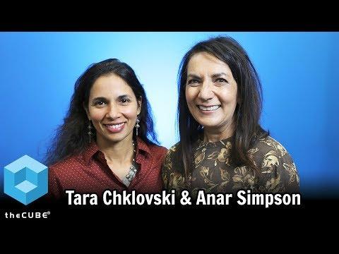 Tara Chklovski, Iridescent & Anar Simpson, Technovation   Park 2   CUBE Conversation Aug 2017