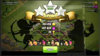Clash Of Clans- Attacking With The BBK For The First Time!
