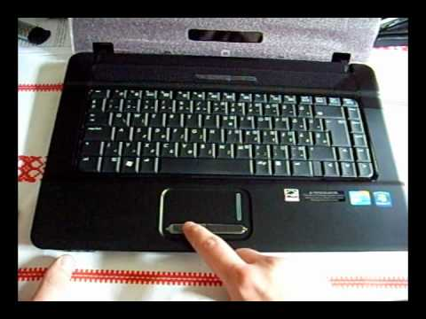 hp touchsmart 610 how to open