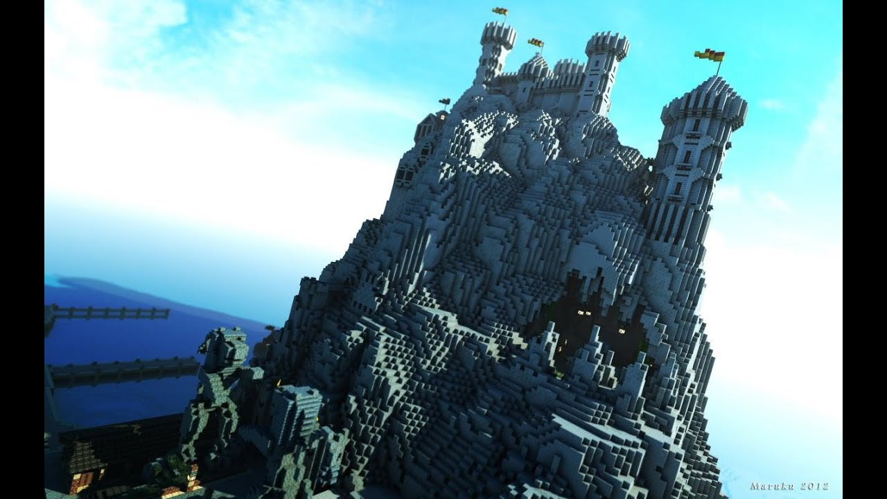 Minecraft: Westeroscraft, Casterly Rock - YouTube