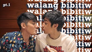 WALANG BIBITIW CHALLENGE with Donny Pangilinan Part 1 (Holding Hands for 2 hours) | Robi Domingo