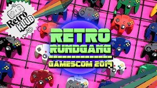 Retro-Gaming-Rundgang auf der gamescom 2019 | Retro Klub