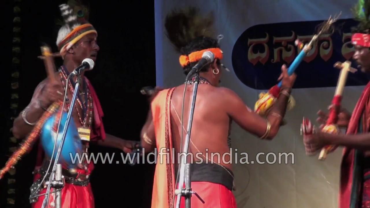 Burra Katha, oral story telling by folk artists of Telangana