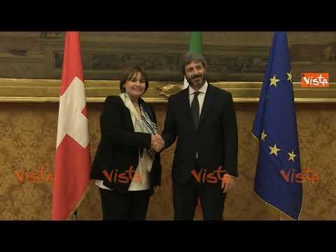 Fico Incontra La Presidente Del Consiglio Federale Svizzero