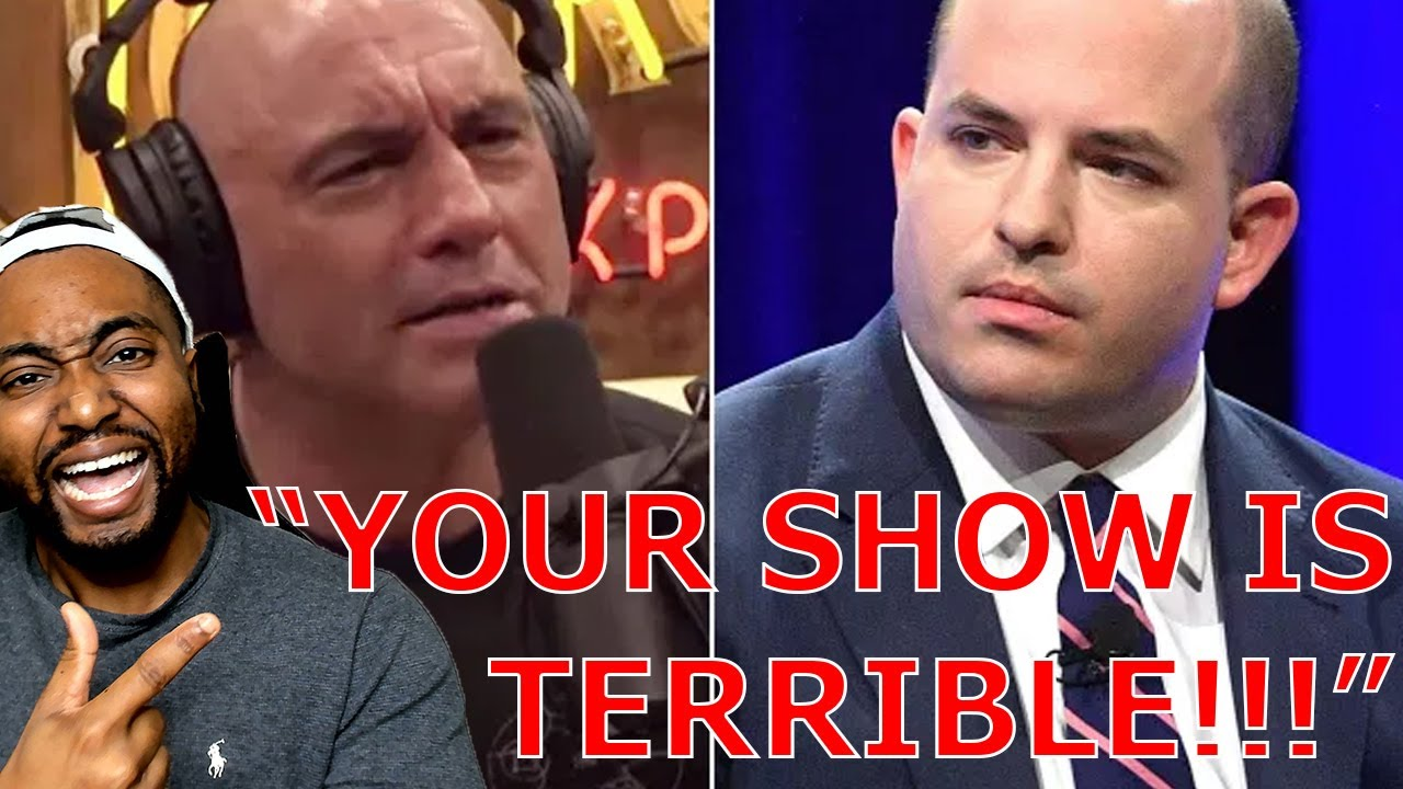 Joe Rogan ROASTS Brian Stelter Says His Show Is Terrible As Stelters Rating PLUMMET TO ALL TIME LOW