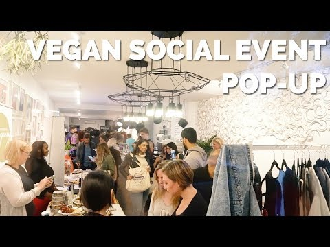 Vegan Social Event Pop-Up 2017