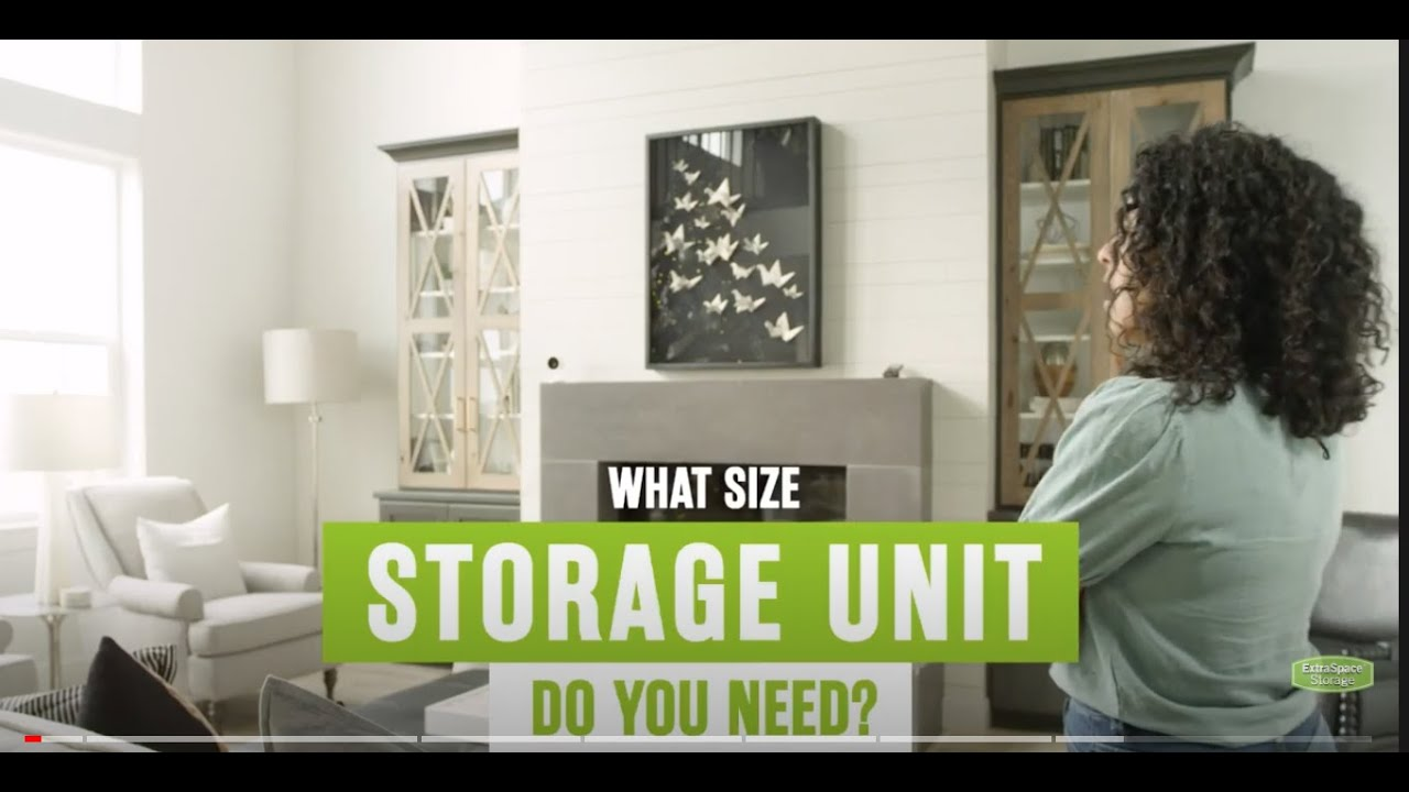 Storage Unit Size Guide Extra Space Storage