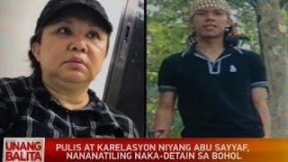 Pulis at karelasyon niyang Abu Sayyaf, nananatiling naka-detain sa Bohol