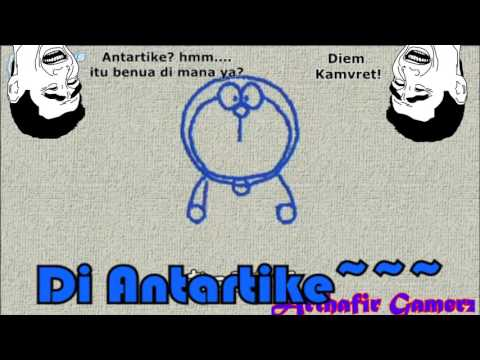 Let's Draw Doraemon / Mari Menggambar Doraemon Subtitle Indo (Ngawur)