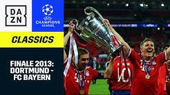 Historisch! Bayern gewinnt das deutsche Finale in Wembley | UEFA Champions League | DAZN Classics