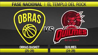 Highlights Obras Basket 79-90 Quilmes (4-5-2017)