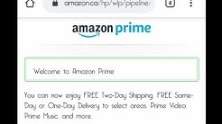 how to create an amazon prime account?