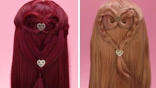 3 Easy Valentine's Day Hairstyles!! Beauty Hacks by Blusher