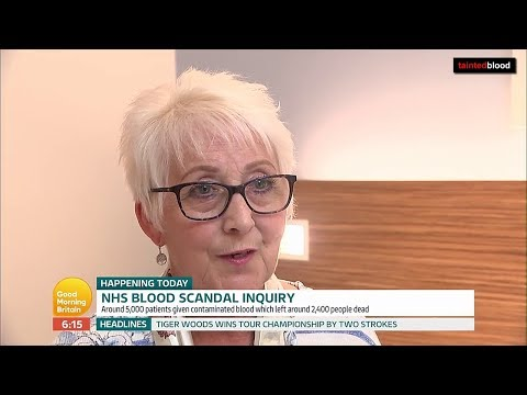 ITV Good Morning Britain : 24th September 2018 - Infected Blood Inquiry