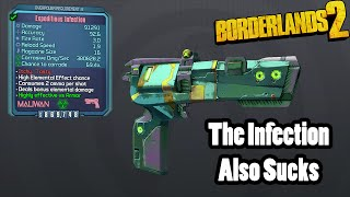 Borderlands 2 The Infection- another terrible gun