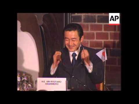 THE NETHERLANDS: JAPANS PRIME MINISTER HASHIMOTO APOLOGISES UPDATE