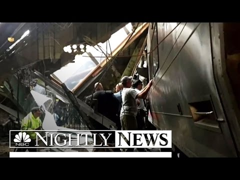1 Killed, 108 Injured As Train Slams Into New Jersey Terminal Building | NBC Nightly News