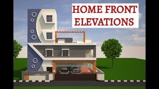 HOME FRONT ELEVATIONS