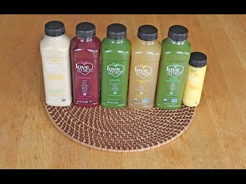 Love Grace Foods Juices Review
