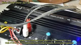 Test mạch trầm điện 12v 1000w bằng sub trầm hơi JBL bass 50 giá 500k