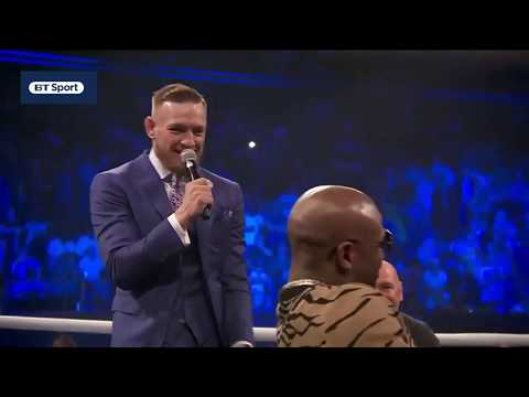 Thumbnail: Floyd Mayweather vs. Conor McGregor: London press conference best bits