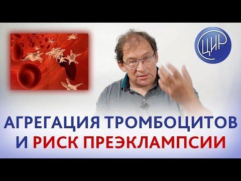 ТРОМБОЦИТЫ и ГЕМОСТАЗ. Функции тромбоцитов. Агрегация тромбоцитов и риск преэклампсии. Гузов И.И.