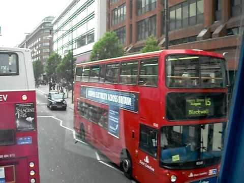 Londra 2009 - in giro sull'autobus a due piani