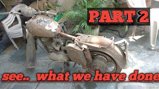 JAWA 250cc 1962 Full restoration from scrap to gold ' PART 2'( for spare parts 9491220222)