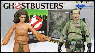 Ghostbusters SDCC Exclusive Slimed Variant Figures by Diamond Select