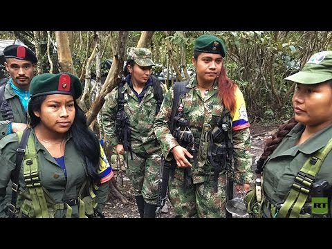Los guerrilleros de las FARC y sus últimos días en la clandestinidad (EXCLUSIVA DE RT)