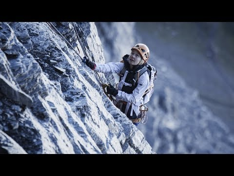 Sasha Digiulian First Female Ascent On North Face Of Eiger With Climbing Partner Carlo Traversi Youtube