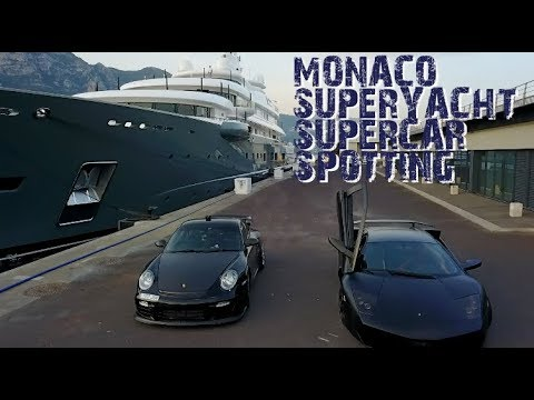 Monaco SuperYacht & SuperCar Spotting